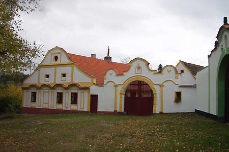 Penzion v Zahrádkách v jižních Čechách